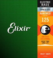 Elixir 13426 Nanoweb Stainless Steel Single Bass String Long Scale .125 Super Light B