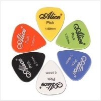 Alice AP-100P медиатор Smooth ABS Guitar Picks