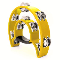 Maxtone 818 YL Dual Power Tambourine (Yellow) Тамбурин
