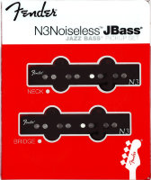 Fender N3 Noiseless Jazz Bass Pickup Set 0993117000