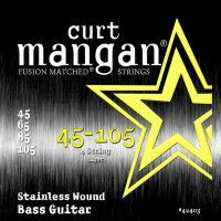 Curt Mangan 42403 Light Stainless Bass Strings 45/105