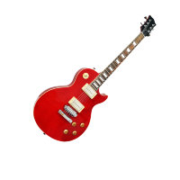 Custom Shop Limited Edition Gibson Style Red Transparent