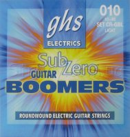 GHS CR-GBL Sub-Zero Boomers Electric Guitar Strings 10/46