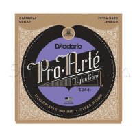 D'Addario EJ44 Classical Silverplated Wound Nylon Extra Hard Tension