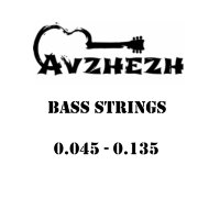 Avzhezh ABS45135 Stainless Steel Bass Strings 45/135