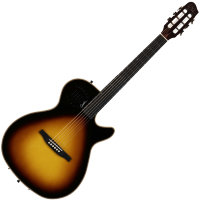 GODIN 035953 - Multiac Steel Duet Ambiance Sunburst HG With Bag