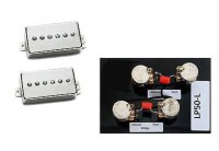 Seymour Duncan SPH-90 Phat Cat Guitar Pickup Set Nickel +LP50-L Harness