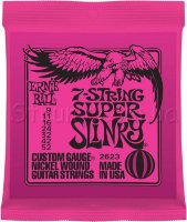 Ernie Ball 2623 7-string Super Slinky Nickel Wound 9/52