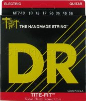 DR MT7-10 Tite-Fit Nickel Plated Medium-Tite Electric 7 Strings 10/56