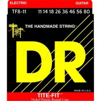 DR TF8-11 Tite-Fit Nickel Plated Heavy Electric 8 Strings 11/80