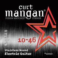 Curt Mangan 12010 Stainless Wound Electric Guitar Strings 10/46