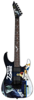 ESP LTD KH-WZ White Zombie (Black w/Graphic)