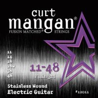 Curt Mangan 12011 Stainless Wound Electric Guitar Strings 11/48