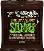Ernie Ball 2153 12-String Slinky Acoustic Phosphor Bronze 9/46