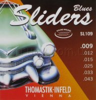 Thomastik-Infeld SL109 Blues Sliders Light Electric Guitar Strings 9/43
