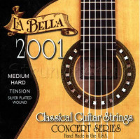 La Bella 2001MH Classical Series Guitar Strings Medium Hard