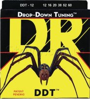 DR DDT-12 Drop-Down Tuning Nickel Plated Heavy Electric Strings 12/60