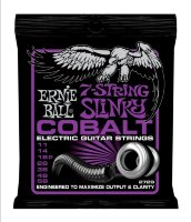Ernie Ball 2729 7 String Cobalt Slinky Electric Guitar Strings 11/58