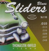 Thomastik-Infeld SL110 Blues Sliders Medium Light Electric Guitar Strings 10/48