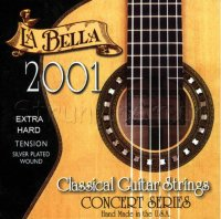 La Bella 2001EH Classical Series Guitar Strings Extra Hard