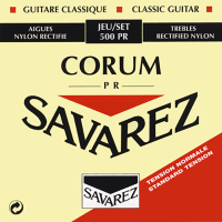 Savarez 500PR Rectified Corum New Cristal Classical Guitar Strings Normal Tension