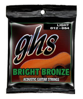 GHS BB30L Bronze Acoustic Guitar Strings 12/54