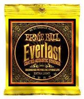 Ernie Ball 2560 Everlast Acoustic 80/20 Bronze Extra Light 10/50