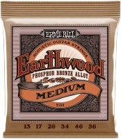 Ernie Ball 2144 Power Slinky Acoustic Phosphor Bronze 13/56
