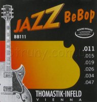 Thomastik-Infeld BB111 Jazz BeBop Extra Light Guitar Strings 11/47