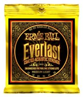 Ernie Ball 2556 Everlast Acoustic 80/20 Bronze Medium Light 12/54
