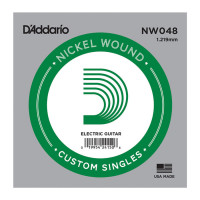 D'Addario NW048 Nickel Wound 048