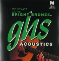 GHS CCBB40 Contact Core Bronze Acoustic Guitar Strings 13/56
