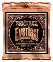 Ernie Ball 2550 Everlast Acoustic Phosphor Bronze Extra Light 10/50