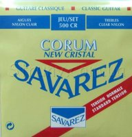 Savarez 500CR Corum New Cristal Classical Guitar Strings Normal Tension