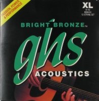 GHS BB60X Bronze Acoustic Guitar 12-Strings 9/42
