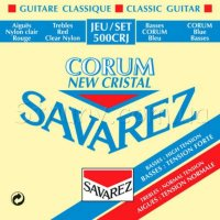 Savarez 500CRJ Corum New Cristal Classical Guitar Strings Mixed Tension