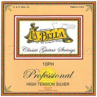 La Bella 10PH Professional High Tension Silver Class Strings
