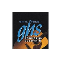 GHS WB-TL White Bronze Standart Light Acoustic Guitar Strings 12/50
