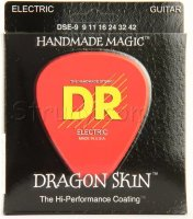 DR DSE-9 Dragonskin K3 Coated Electric Guitar Strings 9/42