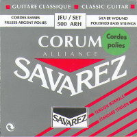 Savarez 500ARH Corum Alliance POLISHED Classical Guitar Strings Normal Tension