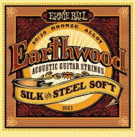 Ernie Ball 2045 Earthwood Silk And Steel Soft 11/52