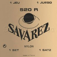 Savarez 520R Red Traditional Classical Guitar Strings High Tension