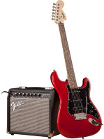 SQUIER by FENDER STRAT PACK HSS CANDY APPLE RED набор