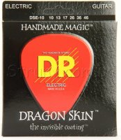 DR DSE-10 Dragonskin K3 Coated Electric Guitar Strings 10/46