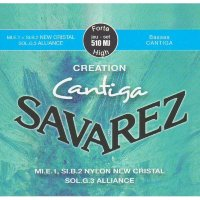 Savarez 510MJ Creation Cantiga Classical Strings High Tension