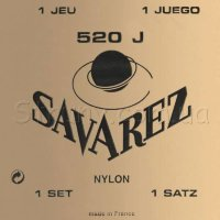 Savarez 520J Yellow Traditional Classical Guitar Strings Very High Tension
