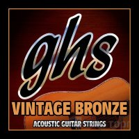 GHS VN-XL Vintage Bronze 85/15 Acoustic Guitar Strings 11/50