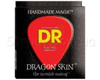 DR DSE-11 Dragonskin K3 Coated Electric Guitar Strings 11/50