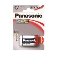 Panasonic Everyday Power 6LR61 Alkaline (6LR61REE/1BR) Батарейка крона