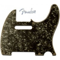 Fender Pickguard For Telecaster 4-Ply Black Pearl